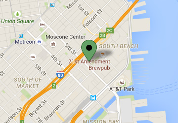 Map Location of South Beach